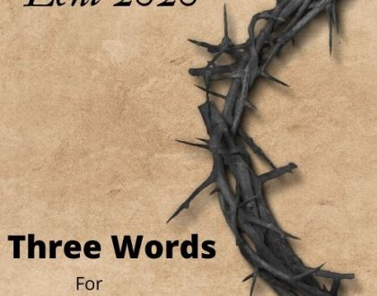 "Lent 4 - ""Three Words for Three Days - 'I Am He' (John 18:3-9)"""